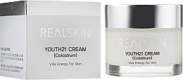 Kup Energetyzujący krem do twarzy - Real Skin Youth 21 Cream Colostrum