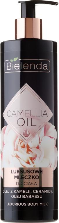 Luksusowe mleczko do ciała z olejem z kamelii, ceramidami i olejem babassu - Bielenda Camellia Oil