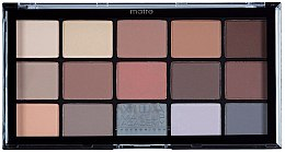 Kup Paleta cieni do powiek - MUA Pro 15 Shade Eyeshadow Palette Matte