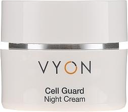 Kup PRZECENA! Odmładzający krem do twarzy na noc - Vyon Cell Guard Cream*
