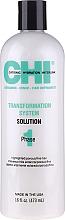 Kup System trwałego prostowania włosów Płyn prostujący Faza 1 Formuła C (zielona) - CHI Transformation Solution Formula C