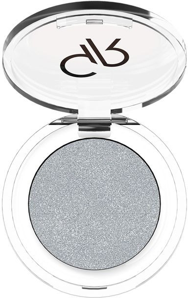 Błyszczący cień do powiek - Golden Rose Soft Color Shimmer Mono Eyeshadow
