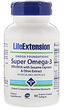 Kup PRZECENA! Kwas Omega-3 w żelowych kapsułkach - Life Extension Super Omega-3 Enteric Coated Softgels *