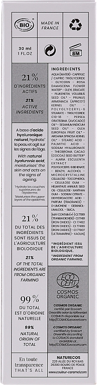Naturalny podkład do skóry dojrzałej - Couleur Caramel Fond de Teint Fluide Hydra Jeunesse — фото N2