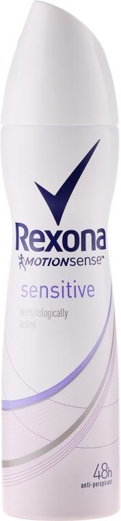Antyperspirant w sprayu - Rexona MotionSense Sensitive — фото N1