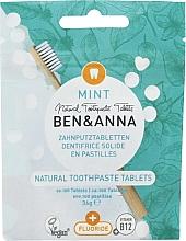 Kup Naturalna pasta do zębów w tabletkach - Ben & Anna Mint Toothpaste Tablets With Fluoride