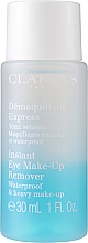 Zestaw - Clarins Perfect Cleansing Splash Set Oily Skin (milk 200 ml + lotion 200 ml + makeup/remov 30 ml + bag) — фото N3