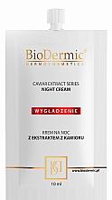 Kup Odbudowujący krem na noc z ekstraktem z oliwek - BioDermic Caviar Extract Night Cream (miniprodukt)