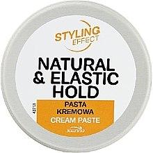 Kup Kremowa pasta do stylizacji włosów - Joanna Styling Effect Natural & Elactic Hold Cream Paste