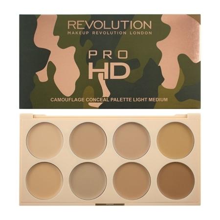 Paleta korektorów do twarzy - Makeup Revolution Ultra Pro HD Camouflage