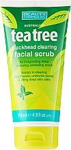 Kup Oczyszczający peeling do twarzy przeciw wągrom Drzewo herbaciane - Beauty Formulas Tea Tree Facial Scrub