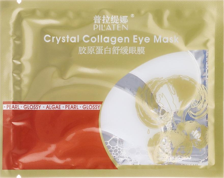 Maska z kolagenem w płatkach pod oczy - Pilaten Crystal Collagen Eye Mask Anti-Puffiness Dark Circle