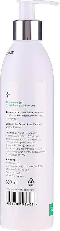 Alkoholowy żel odświeżający z gliceryną - Privolab Privo Care Hand Gel  — фото N2