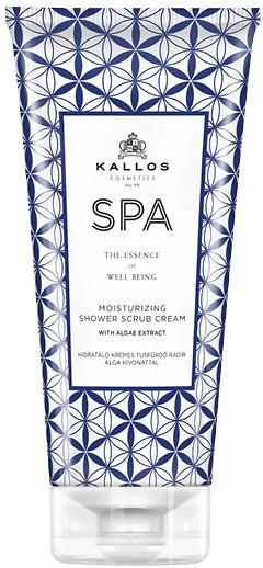 Nawilżający kremowy scrub pod prysznic - Kallos Cosmetics SPA Moisturizing Shower Scrub Cream With Algae Extract — фото N1