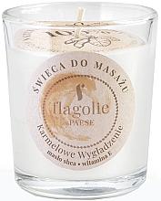 Kup Świeca do masażu w szklance Karmelowe wygładzenie - Flagolie Caramel Smoothing Massage Candle