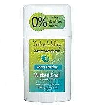 Kup Dezodorant w sztyfcie - Indus Valley Wicked Cool Deodorant Stick