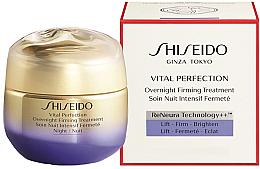 Kup Odżywczy krem do twarzy - Shiseido Vital Perfection Overnight Firming Treatment