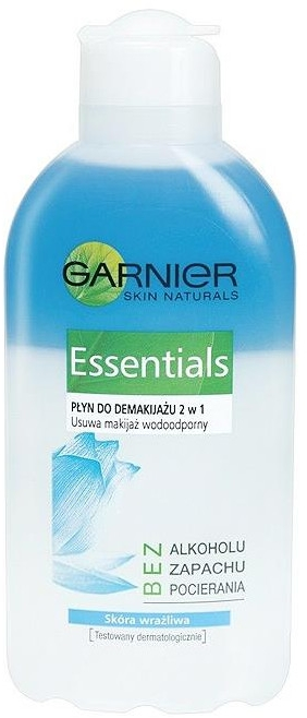 Płyn do demakijażu 2 w 1 Essentials - Garnier Skin Naturals