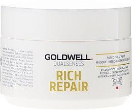 Kup 60-sekundowy balsam regenerujący do włosów - Goldwell Dualsenses Rich Repair 60Sec Treatment