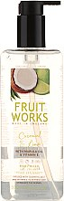 Kup Mydło w płynie Kokos i limonka - Grace Cole Fruit Works Coconut & Lime Hand Wash