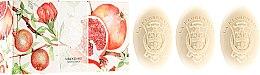 Kup Mydełka w kostce Granat - La Florentina Pomegranate Soap