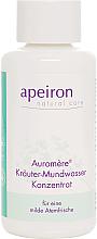 Kup Ziołowy koncentrat do płukania jamy ustnej - Apeiron Auromère Herbal Mouthwash Concentrate