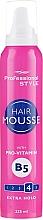 Kup Pianka do układania włosów z witaminą B5 - Professional Style Extra Hold Hair Mousse