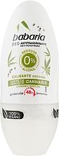 Kup Dezodorant w kulce z konopi indyjskich - Babaria Cannabis Deodorant Roll-on