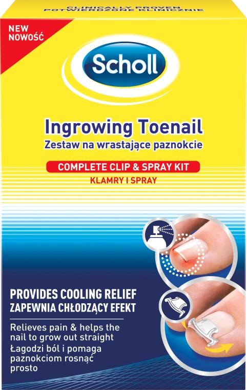 Zestaw na wrastające paznokcie - Scholl Ingrowing Toenail