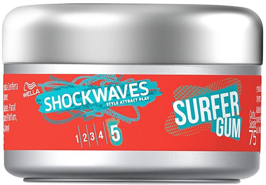 Guma do stylizacji włosów - Wella Shockwaves Surfer Gum — фото N1