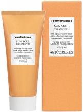 Kup Przeciwsłoneczny krem do twarzy - Comfort Zone Sun Soul Face Cream SPF 15