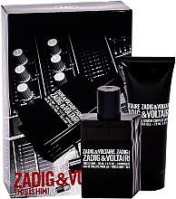 Kup Zadig & Voltaire This is Him - Zestaw (edt 50 ml + sh/gel 75 ml)
