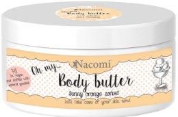 Kup Masło do ciała Pomarańczowy sorbet - Nacomi Body Butter