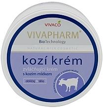 Kup Zmiękczający krem do twarzy i ciała z kozim mlekiem - Vivaco Vivapharm