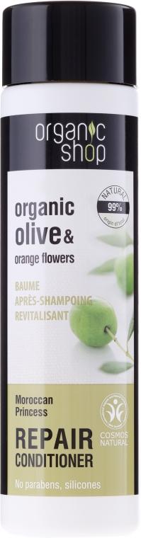 Rewitalizująca odżywka do włosów Marokańska księżniczka - Organic Shop Organic Olive and Orange Flowers Repair Conditioner