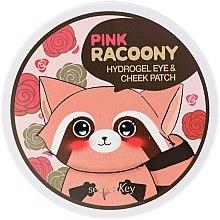 Kup Hydrożelowe plastry pod oczy - Secret Key Pink Racoony Hydro-Gel Eye & Cheek Patch
