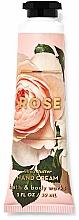 Kup Krem do rąk z masłem shea Róża - Bath and Body Works Rose Shea Butter Hand Cream