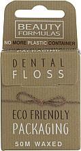Kup Ekologiczna woskowana nić dentystyczna - Beauty Formulas Eco Friendly Dental Floss
