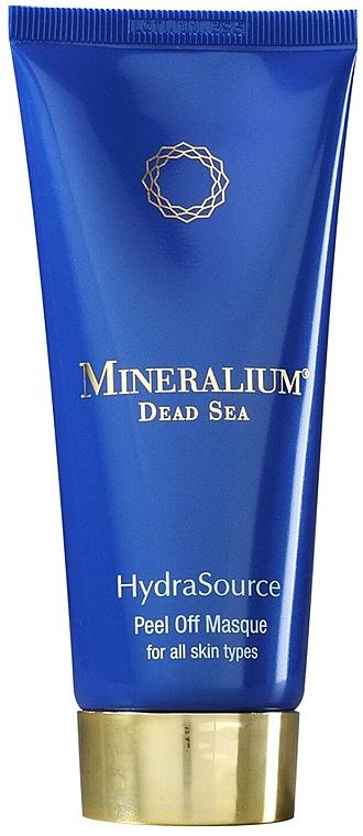 Oczyszczająca maseczka peel-off do twarzy - Mineralium Hydra Source Peel Off Masque — фото N1