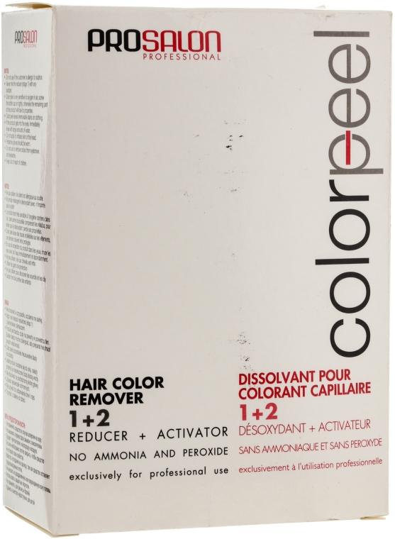 Zmywacz do usuwania zabrudzeń po farbie - Prosalon Color Peel Hair Remover — фото N5
