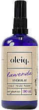Kup Hydrolat z lawendy do twarzy, ciała i włosów - Oleiq
