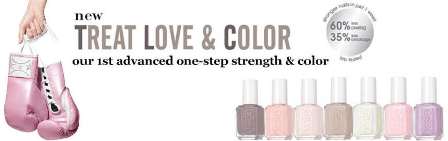 Delikatny preparat wzmacniający paznokcie - Essie Treat Love & Color Strengthener — фото N4