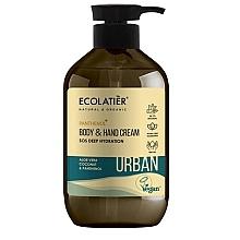 Kup Nawilżający krem do rąk i ciała Aloes, kokos i pantenol - Ecolatier Urban Moisturizing Body & Hand Cream