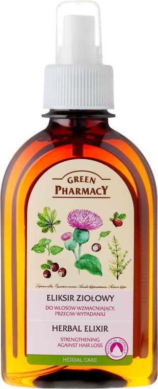 Eliksir ziołowy do włosów wzmacniający, przeciw wypadaniu - Green Pharmacy