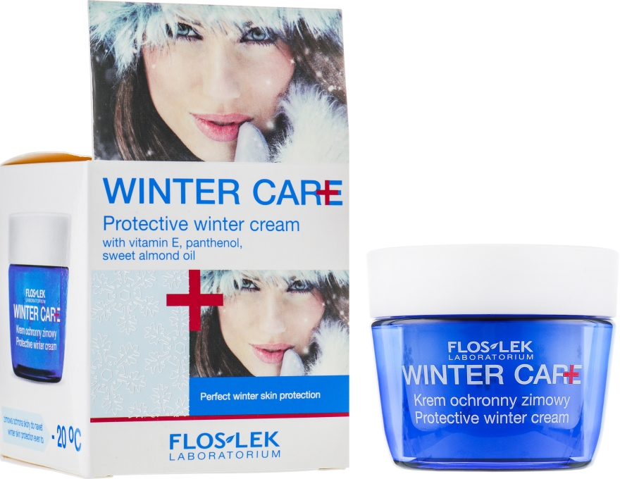 Zimowy krem ochronny - Floslek Winter Care Protective Cream
