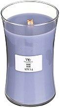 Świeca zapachowa w szkle - WoodWick Hourglass Candle Lilac — фото N3