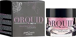 Kup Nawilżający krem do twarzy na noc z ekstraktem z orchidei - PostQuam Orquid Eternal Moisturizing Night Cream
