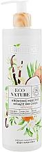 Kup Nawilżające kremowe mleczko myjące do ciała - Bielenda Eco Nature Creamy Body Wash Milk Vanilla Coconut Milk Orange Blossom