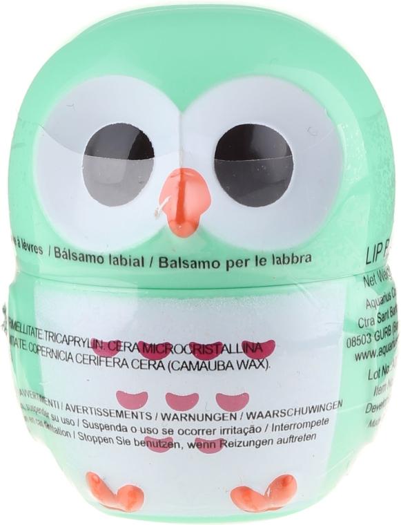 Balsam do ust Sowa, zielona - Martinelia Owl Lip Balm