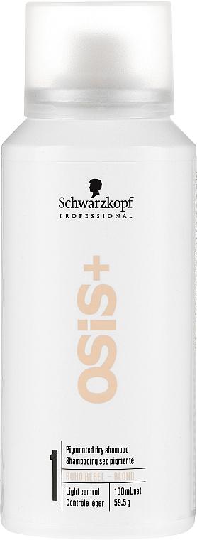 Suchy szampon do włosów blond - Schwarzkopf Professional OSiS+ Boho Rebel Blond — фото N1